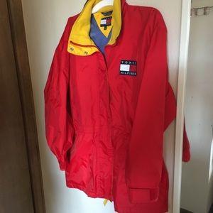 Tommy Hilfiger red vintage jacket
